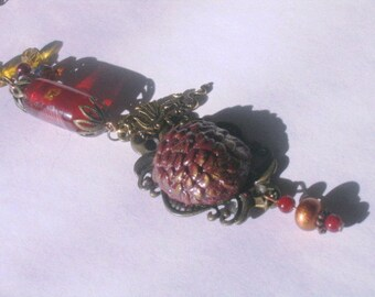 Drogon Game of Thrones dragon egg necklace