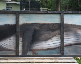 Whale of a Time Headboard