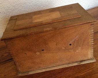 Vintage Kodak Wood Film Tank Box