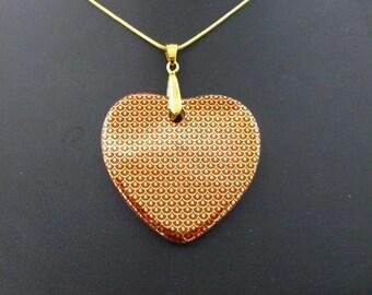 Jewel porcelain heart of Limoges