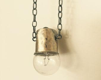 The Daintiest of All Lightbulbs Necklace
