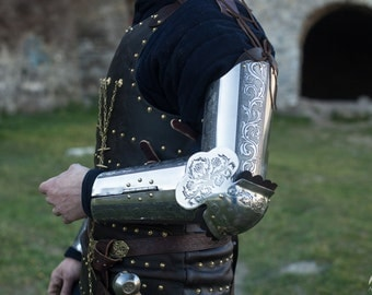 """20% DISCOUNT! Armor Arms """"Knight of Fortune""""; Medieval Armor; Armour"""