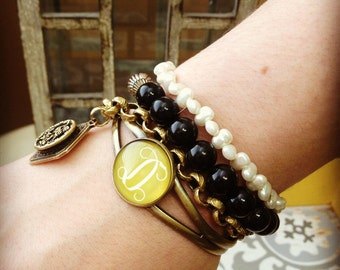 Personalized Bracelets! Perfect for Stacking!