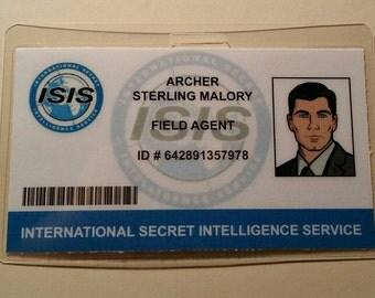 Archer TV Show Sterling Archer I.D. Badge