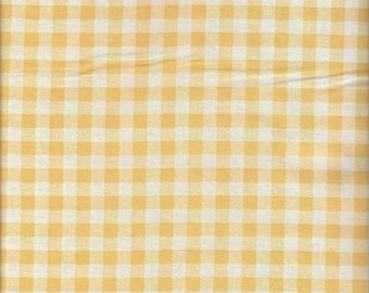 Large GIngham Check in Yellow by Lecien
