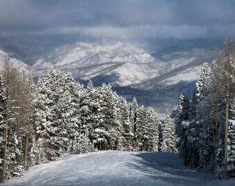 Aspen, Mountains, Rocky, Buttermilk, Snowmass, Skiing, Photograph, Fine Art, Winter, Gift, Photography, Craig Seaver, Colorado