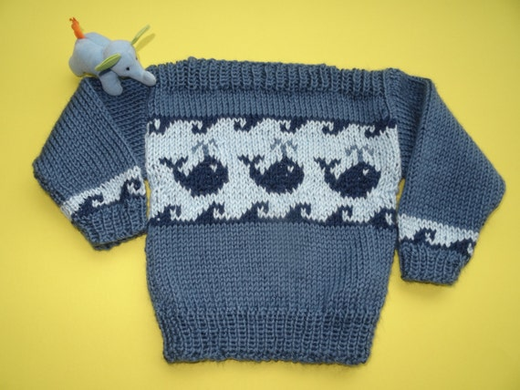 Knitting Pattern Baby Knitting Pattern Boat Neck Sweater