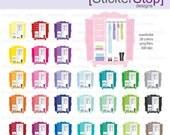 Closet Wardrobe Digital Clipart - Instant download PNG files
