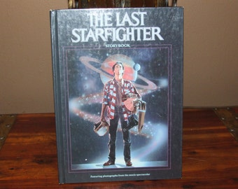 Vintage 1984 The Last Starfighter Storybook Hardcover Book