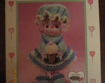 Sherebet Ice Crocheted Doll