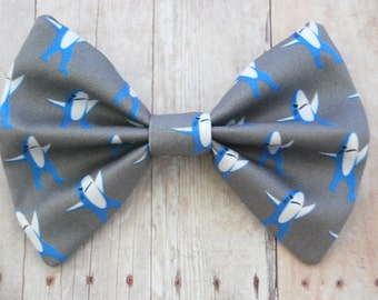 Left Shark Bow // Meme, Internet, Katy, Dance, Novelty