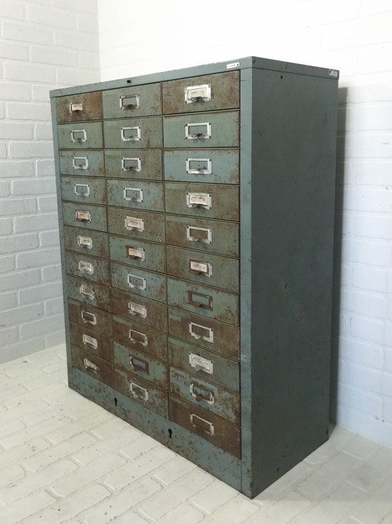 Reserved Industrial Steel Cabinet Large Vintage Cole Parts Bin