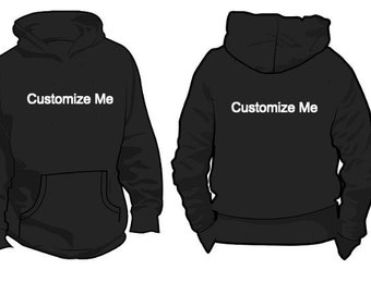 Custom Hoodie - You Design