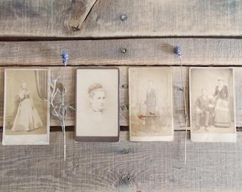 Antique Photographs   Lot Of Four