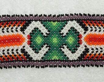 Huichol Beaded Scorpion Bracelet SSS