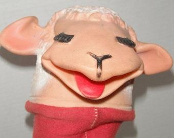 60s Tarcher Lamchop hand puppet