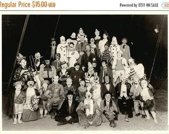 Sizzlin Summer Sale Circus Clowns 1927