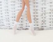 Socks Handmade to Fit Monster Ever After Dolls Crew Socks- Pack of 2