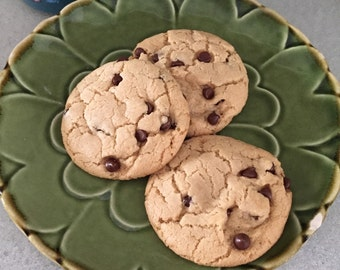 Vegan Chocolate Chip Cookies!