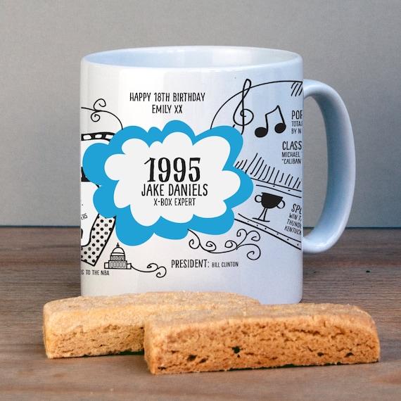 1995 USA Mug/ 21st Birthday Mug/ 21st Birthday By