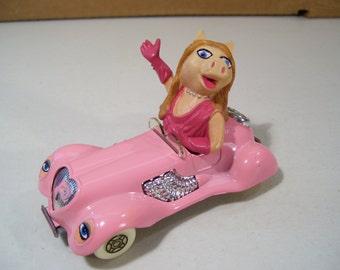 Vintage Corgi Muppets Miss Piggy Pink Die-cast Car, 1979, Made in Great Britain