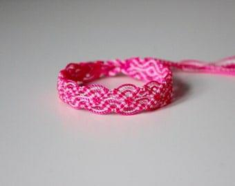Hot Pink Friendship Bracelet