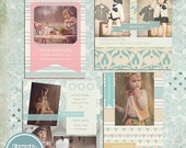 ON SALE INSTANT Download Photography Marketing Boards ( 5x5 in and 5x7 in ) Psd Templates vol.2