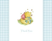 Winnie the Pooh Baby Shower Thank You Notes