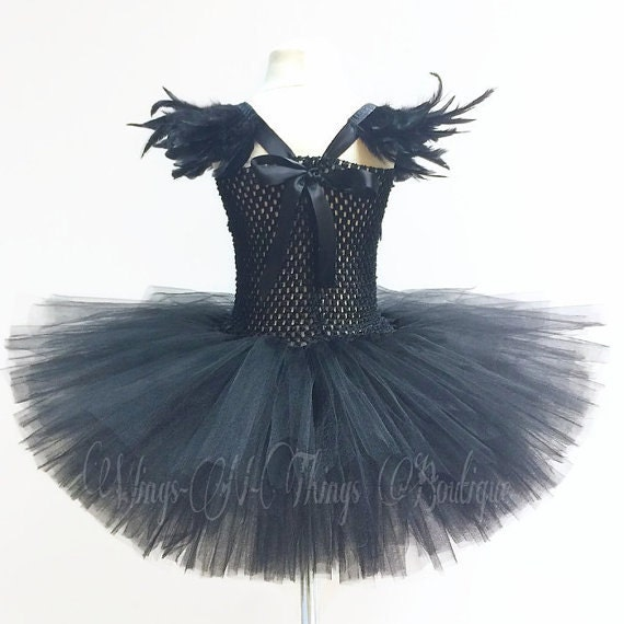 EVIL FAIRY COSTUME Wing Set w/ Black Wings Horns Headband