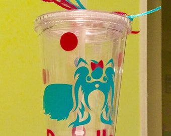 Personalized Dog Tumbler