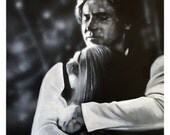 "Original, Signed Painting on Canvas by James Hance - ""Han & Leia"" - 20"" x 16""  - Unique art! FREE shipping"