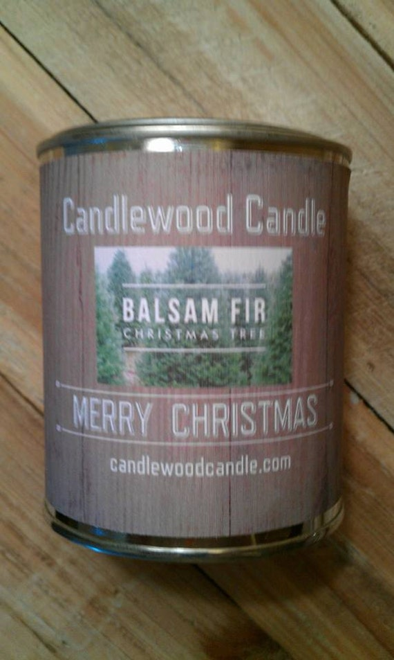 BALSAM FIR -  PERSONALIZED Gift, Christmas Gift, Custom Gift, Send your message, Free Shipping in United States 16 oz