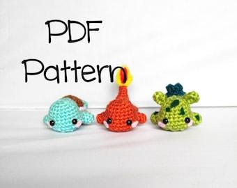 Poke'Mon Stackers Crochet Pattern, Amigurumi Poke'mon Pattern, Crochet Tutorial