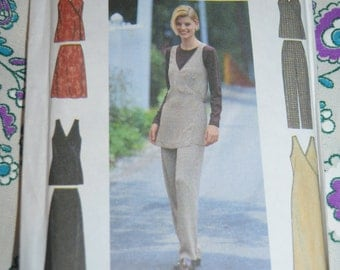 Simplicity 8422 MissesJumper or Vest Skirt and Pants Sewing Pattern - UNCUT  Sizes 10 12 14