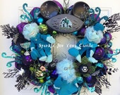 Disney HitchHiking Ghosts Haunted Mansion Wreath