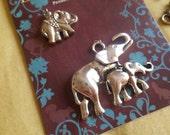 Elephant Charms (4 charms)