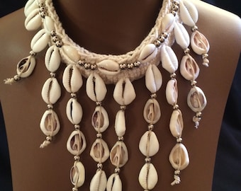 Lovely cowry necklace