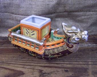 Dragon Boat Incense Burner Oriental Incense Burner