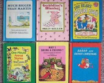 Children's Choice Book Club Collection - Lot of 12 - If The Dinosaurs Came Back, May I Bring A Friend, Geraldines Blanket, Berenstain Bears