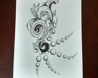 Fecundity: Original Art Print