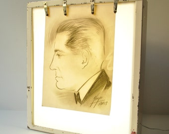 Vintage X-Ray Transparency - Slide Light Box Wall or Table Mount