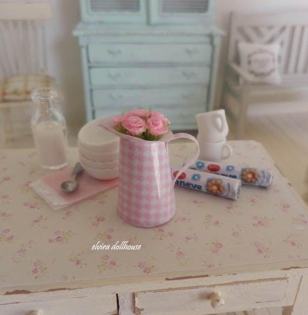 Brocca squallido in miniatura per la casa delle bambole casa - Bagno in miniatura ...
