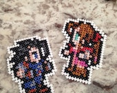 Custom Final Fantasy VII Character Patch! 13 Differnt Characters Available!  Pin Magnet Keychain featured image