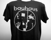 Bauhaus T-shirt (FREE SHIPPING in Usa only) 80s Cocteau Twins New Order Siouxsie and the Banshees Sisters of Mercy Xmal Deutschland 4AD Goth
