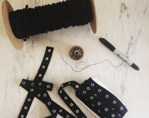 Lace Up Tee Starter Packs Supplies Grommet Trim and Lace