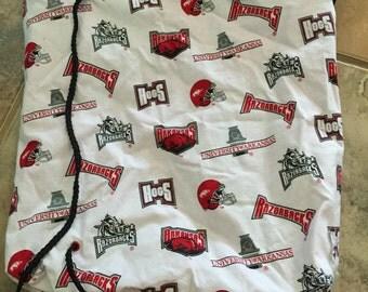 Arkansas Razorback Sling Bag University of Arkansas Cinch Sack