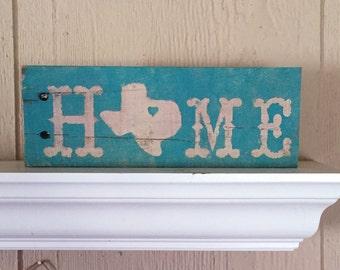 Rustic Texas Sign