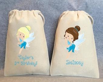 """8- Fairy, Fairies, Fairy Party, Fairy Party Favor, Fairy Birthday, Fairy party favor bags, 5""""x8"""""""
