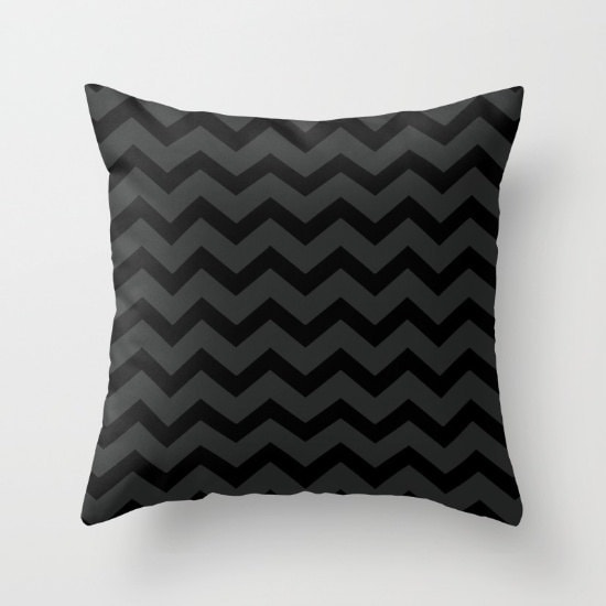 Black and Gray Chevron Pillow Cover Includes Insert  : ilfullxfull909345162jukb from www.shelleyscrochetole.com size 550 x 550 jpeg 28kB
