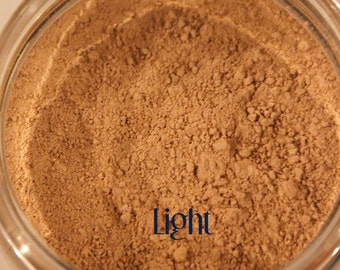 All-Natural Mineral Bronzer To Use Dry or as Liquid Makeup